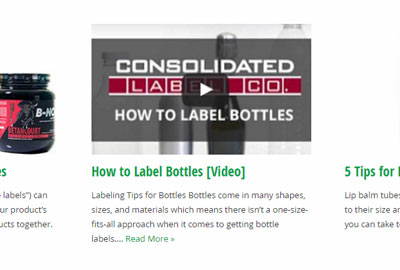 Custom Label Blog