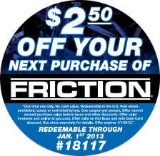 round coupon label