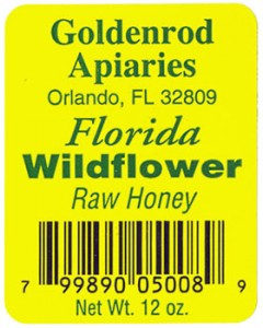 Custom barcode label