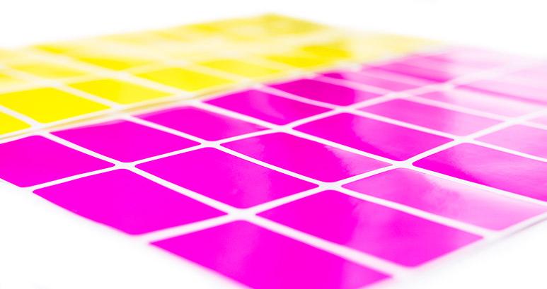 Fluorescent labels sheets