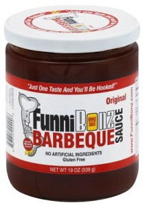 bbq sauce label with nutrition facts