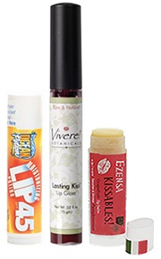 Lip balm tube label