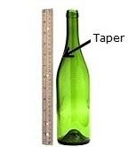 taper bottle test for labels
