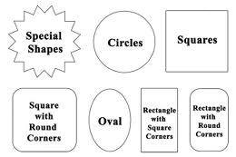 shapes for custom labels
