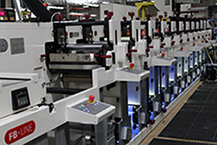 flexographic printing press for custom labels