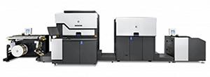 digital printing press for custom labels