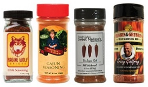 custom spice labels