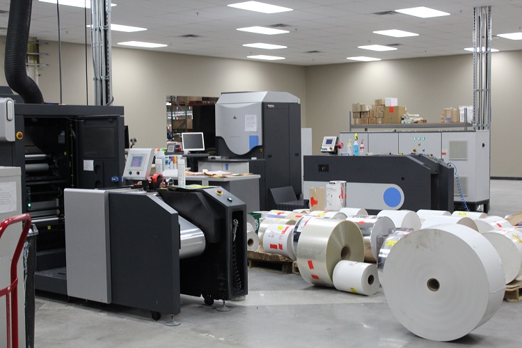 Roll Labels Digital Printing