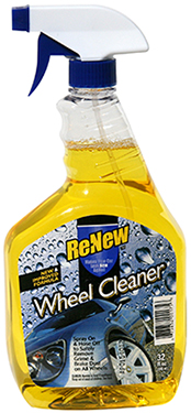 Wheel cleaner product label