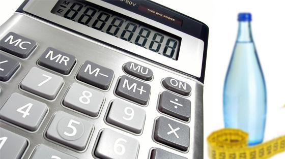 Bottle Measure Calculator
