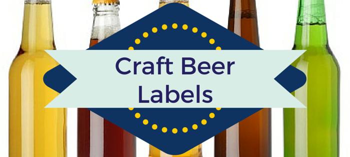 Craft Beer Label Materials Graphic