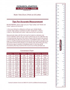 Print this handy reference tool to help you measure in a pinch!