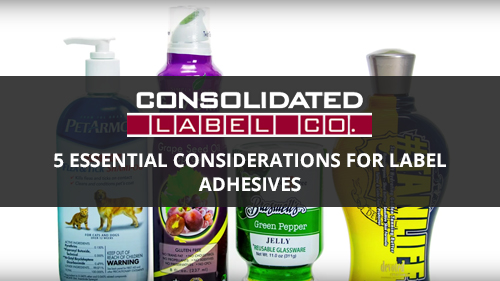 Important considerations for label adhesives video