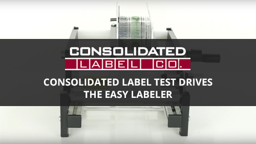 Easy Labeler labeling machine video