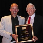 Consolidated Label president accepts Eugene Singer Award