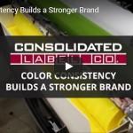Color consistency video thumbnail