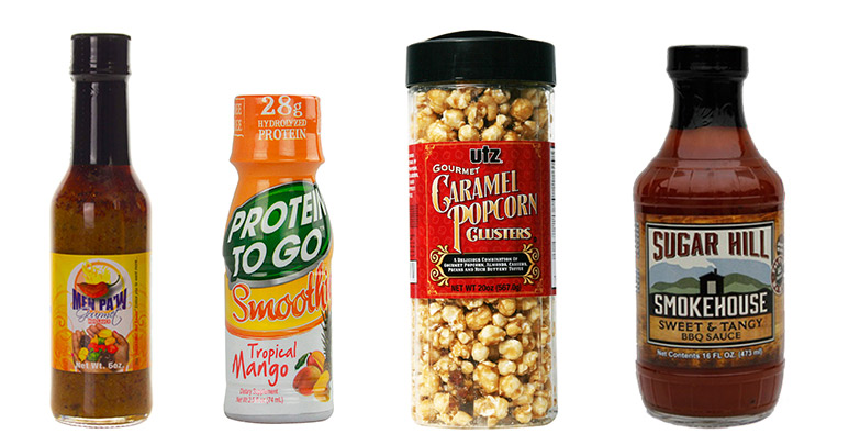 Custom labeled food products