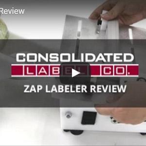 Zap Labeler label applicator