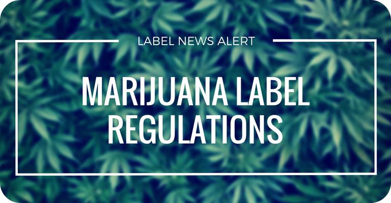 marijuana label regulations