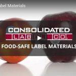 Food-safe label materials video