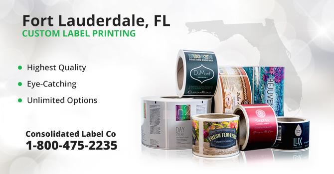 Fort Lauderdale Custom Label Printing