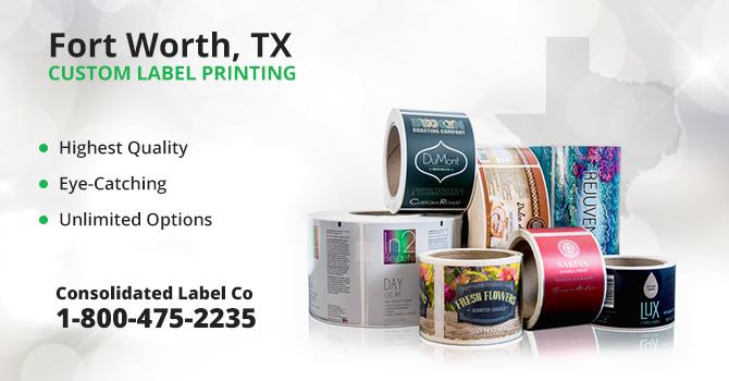 Forth Worth Custom Label Printing