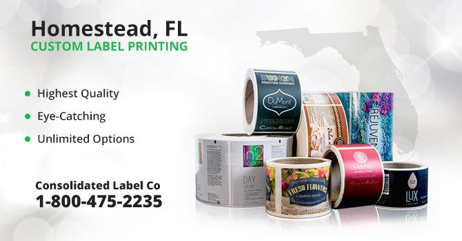 Homestead Custom Label Printing