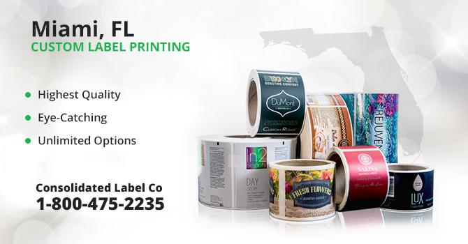 Miami Custom Label Printing
