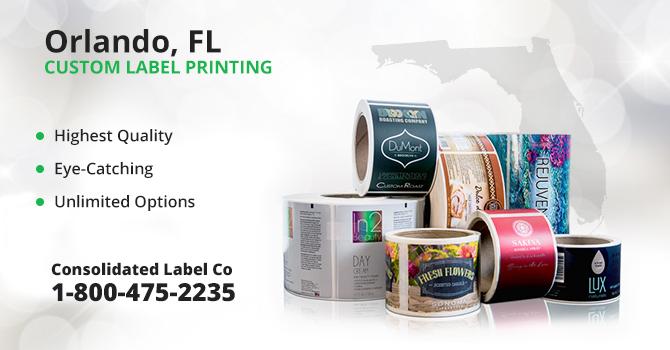 Orlando Custom Label Printing