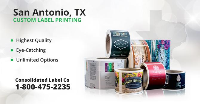 San Antonio Custom Label Printing
