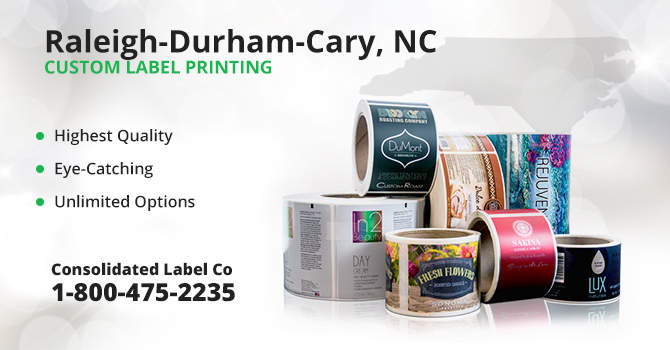 Raleigh-Durham-Cary Custom Label Printing