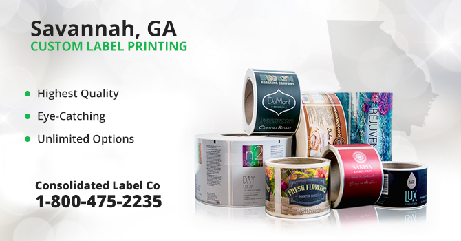 Savannah Custom Label Printing