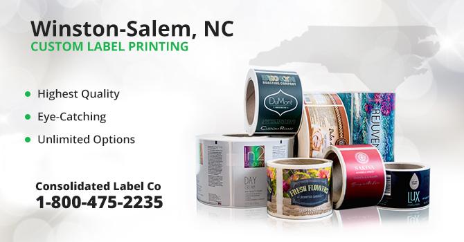 Winston-Salem Custom Label Printing