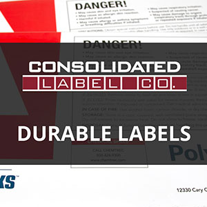 Durable label materials video