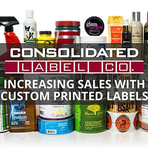 Custom printed labels video