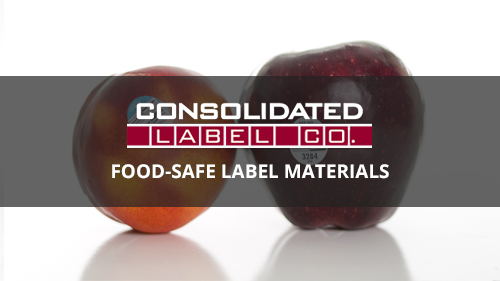 food-safe label