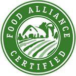 food alliance certified food label symbol