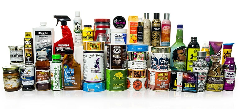 Custom labels and shrink sleeves