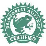 rainforest alliance certified food label symbol