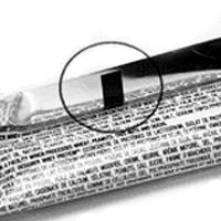 Eye mark on flexible packaging