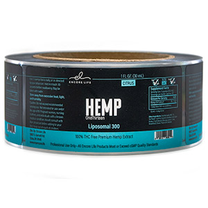 Medical Marijuana roll labels