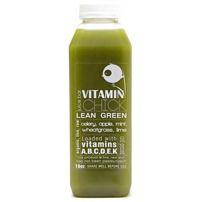 Green Juice Label