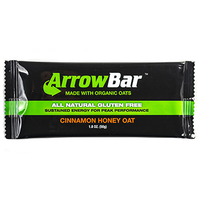 Energy bar in flexible packaging