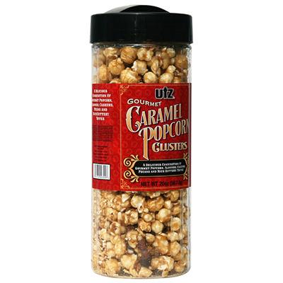 Caramel Popcorn Label