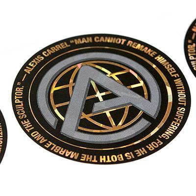 Holographic Logo Sticker