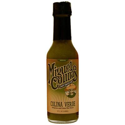 Verde Hot Sauce Label