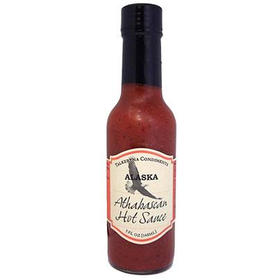 Custom Shape Hot Sauce Label