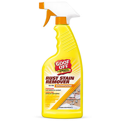 Rust Stain Remover Bottle Label
