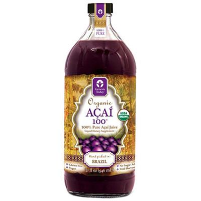 Açaí Juice Label