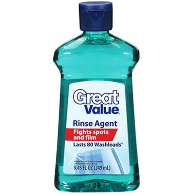 Rinse Agent Bottle Label